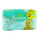 Pampers - Fresh clean - soft & strong (2 x 64)