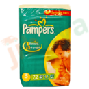 Pampers - Couches  n° 3 - Midi 4-9 kg