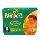 Pampers - Couches n° 5 - Junior 11-25 kg