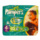 Pampers - Couches  n° 4 - Maxi 7-18 kg