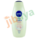 Nivea - Soin de bain - Care and rose - Parfum rose