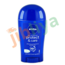 Nivea - Anti transpirant - Protect and care - with Nivea Cream ingrédients